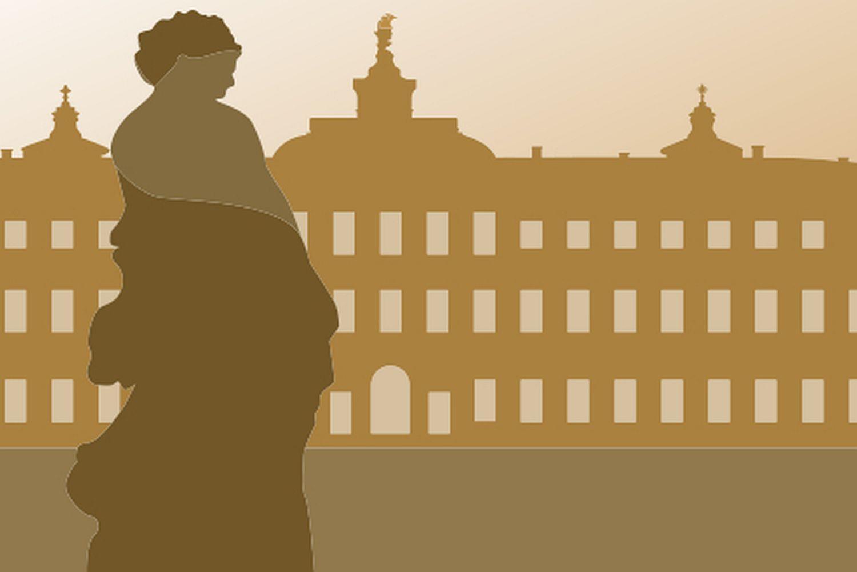 Symbol für Standardführungen im Residenzschloss Rastatt