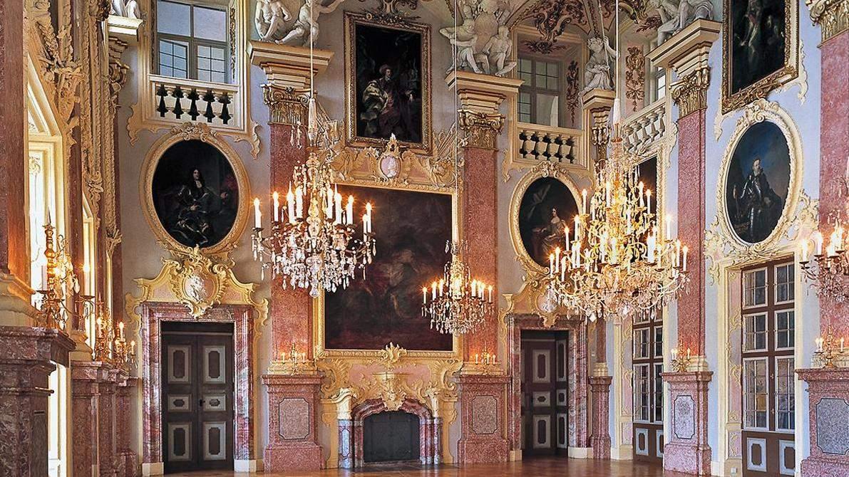 The ancestral gallery of Rastatt Residential Palace; Photo: Staatliche Schlösser und Gärten Baden-Württemberg, Steffen Hauswirth