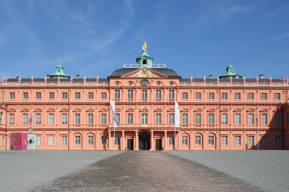 Front of Rastatt Residential Palace. Image: Staatliche Schlösser und Gärten Baden-Württemberg, Sandra Eberle