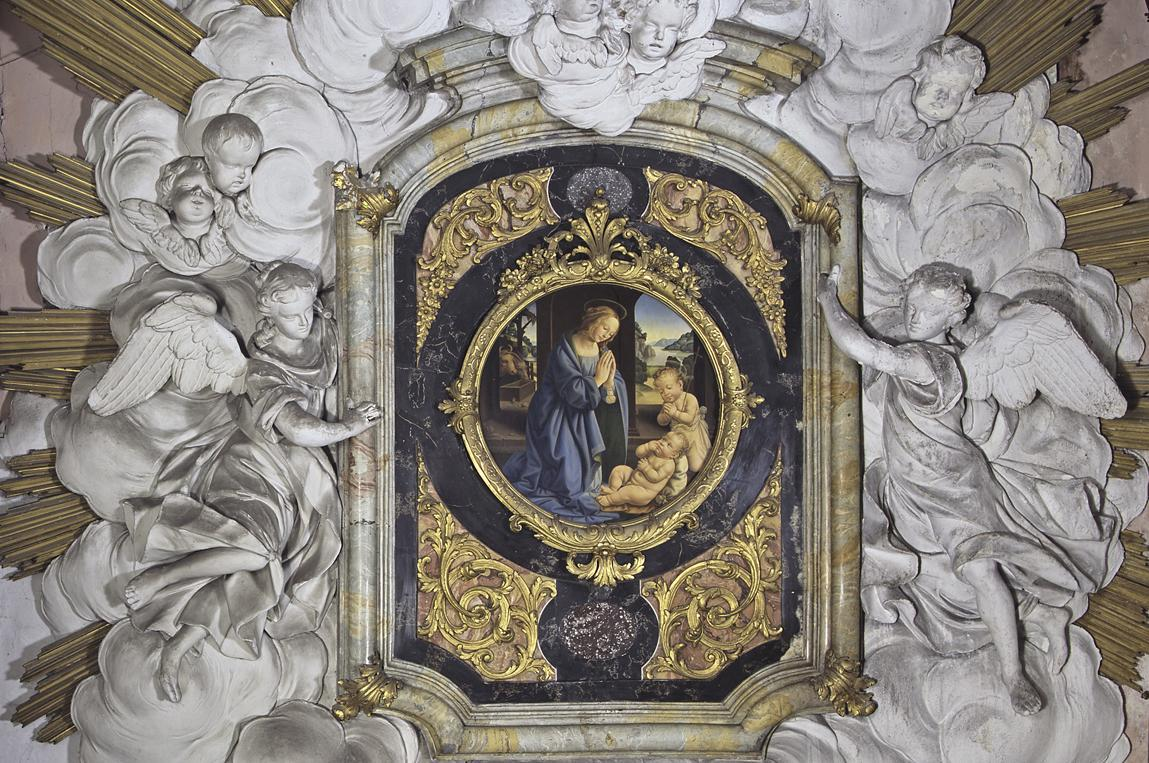 Retable for a side altar in Rastatt Palace Church. Image: Landesamt für Denkmalpflege Baden-Württemberg, Bernd Hausner