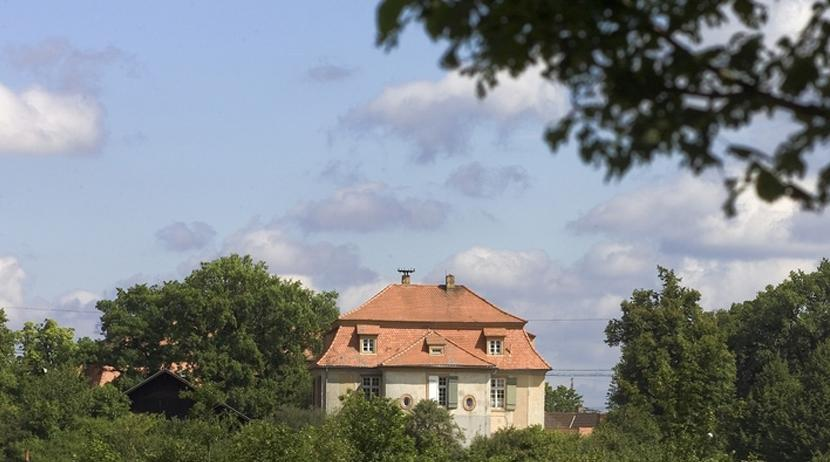 Auxiliary building to the Scheibenhardt hunting lodge near Ettlingen. Image: Landesmedienzentrum Baden-Württemberg, Andrea Rachele