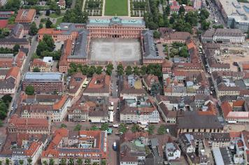 Residenzschloss Rastatt, Luftansicht