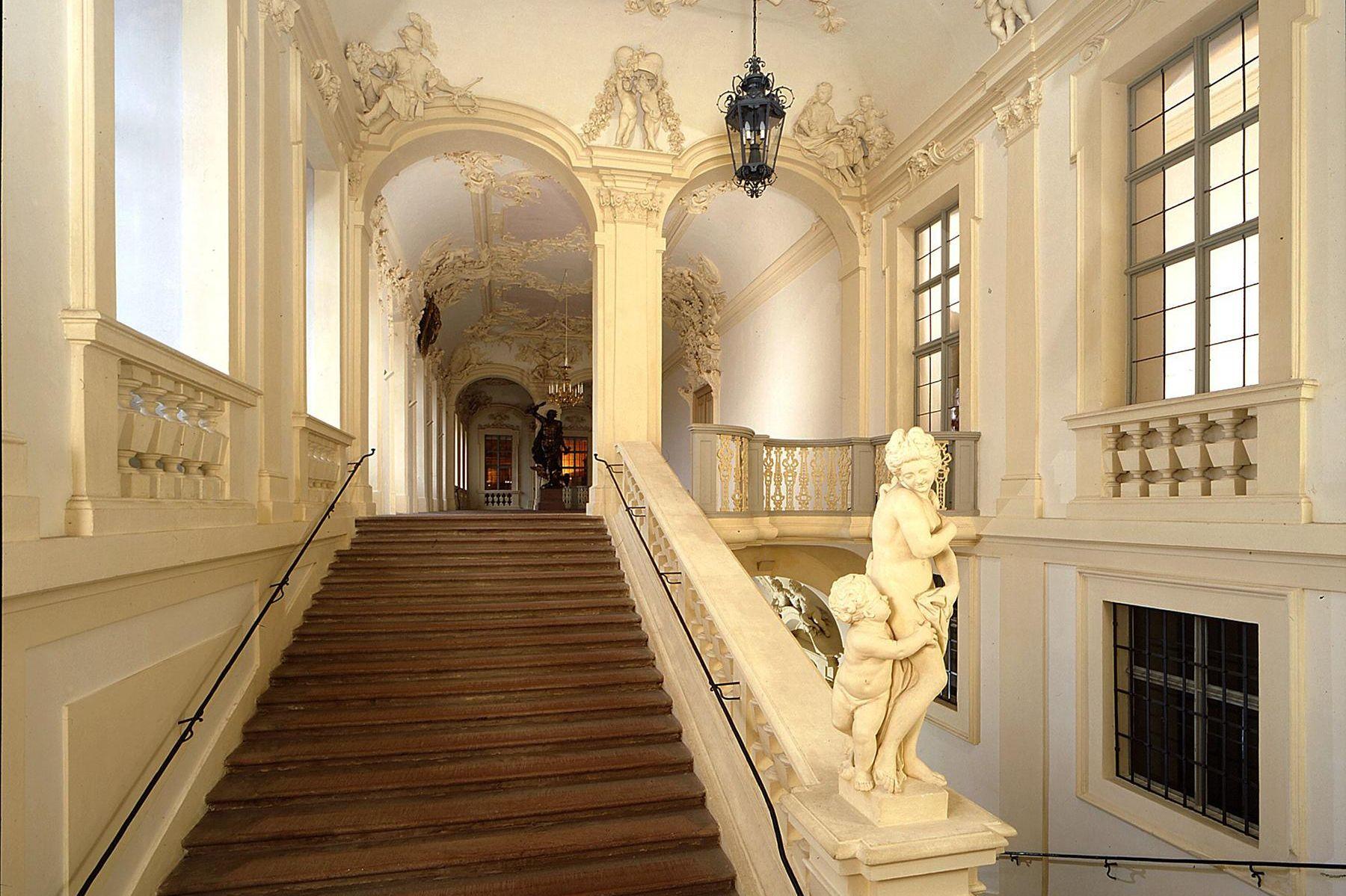 Residenzschloss Rastatt, Südliches Treppenhaus