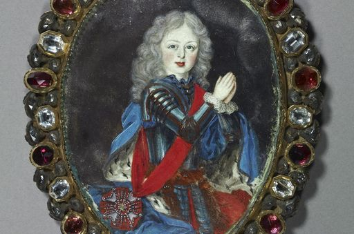 Pendant with portrait of Ludwig Georg, a gift of supplication. Image: Staatliche Schlösser und Gärten Baden-Württemberg, Arnim Weischer