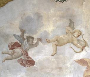 God of Love, Cupid as a cherub