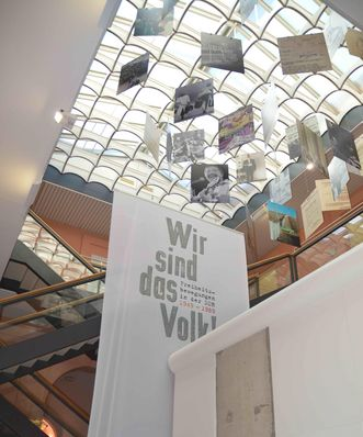 View of the exhibition. Image: Memorial for Freedom Movements in German History
