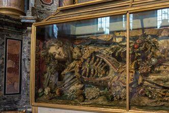Residenzschloss Rastatt, Heilige Theodora in der Schlosskirche