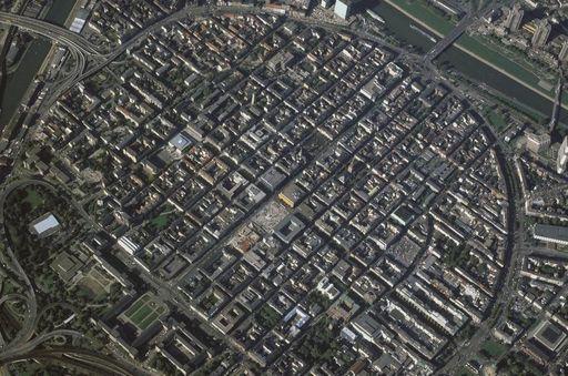 Luftansicht von Mannheim