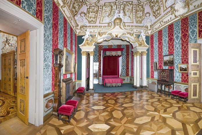 Rastatt Residential Palace, State bed