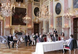 Wedding at Rastatt Residential Palace