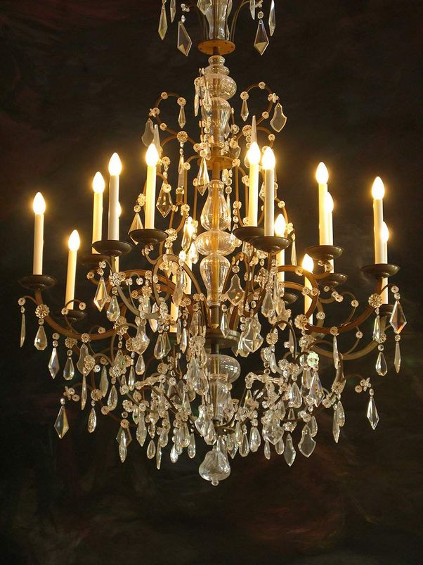 Rastatt Residential Palace, Chandelier in the Ancestral Hall