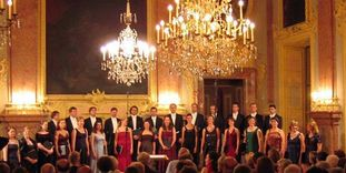 Residenzschloss Rastatt, Vocalensemble Rastatt & Les Favorites
