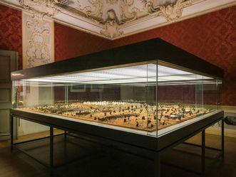 Residenzschloss Rastatt, Wehrgeschichtliches Museum, Diorama