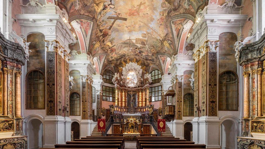 Residenzschloss Rastatt, Schlosskirche