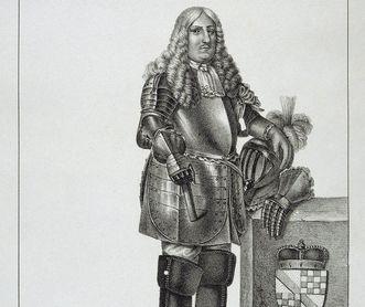 Portrait of Margrave Ferdinand Maximilian, father to the Rastatt builder. Image: Staatliche Schlösser und Gärten Baden-Württemberg, Arnim Weischer