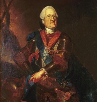 Bildnis des Markgrafen August Georg von Baden-Baden, Heinrich Lihl, um 1760; Foto: Staatliche Schlösser und Gärten Baden-Württemberg, Ina Friedrich