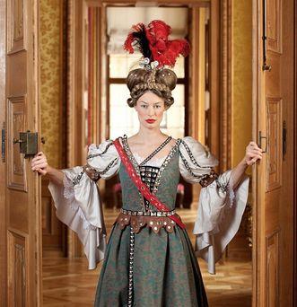 Costume scene at Rastatt Residential Palace