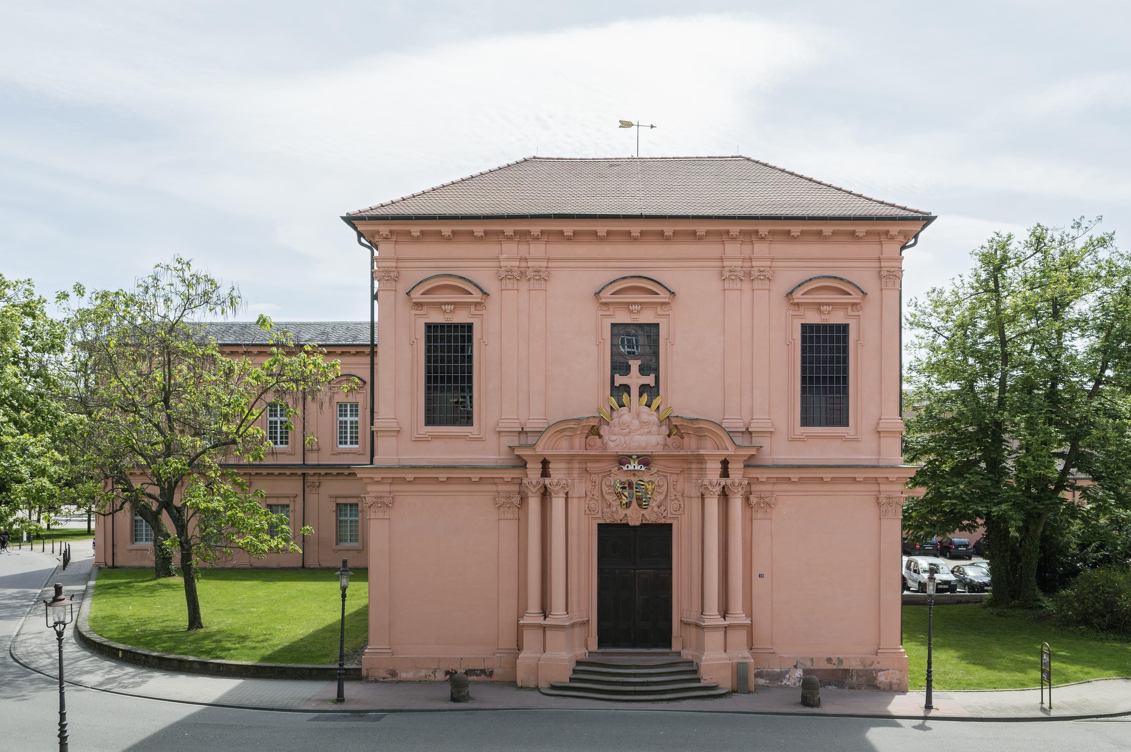 Residenzschloss Rastatt, Fassade der Schlosskirche