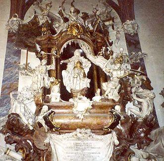 Grabmal Markgraf Ludwig Wilhelms, Stiftskirche Baden-Baden