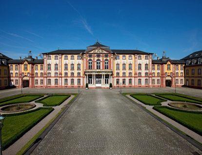 Exterior of Bruchsal Palace. Image: Staatliche Schlösser und Gärten Baden-Württemberg, Achim Mende