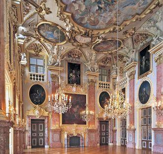 Château résidentiel de Rastatt,  salle des ancêtres