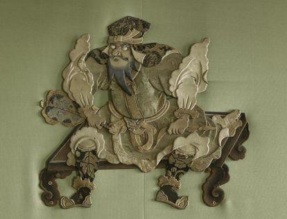 Schloss Favorite Rastatt, Detail aus dem Grünen Saal