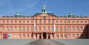 Image: Front of Rastatt Residential Palace