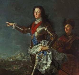 Bildnis des Louis von Orléans, Alexis Simon Belle, 1724