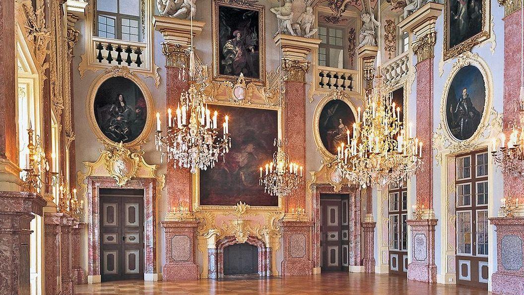 Residenzschloss Rastatt, Ahnensaal