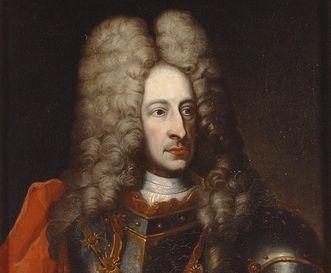 Portrait du margrave LudwigWilhelm en armure