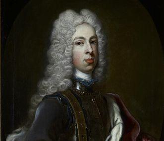 Portrait of August Georg, by Frans van Stampart, 1724. Image: Staatliche Schlösser und Gärten Baden-Württemberg, Arnim Weischer
