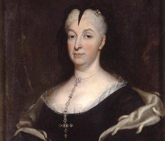Portrait of Margravine Sibylla Augusta as a widow. Image: Staatliche Schlösser und Gärten Baden-Württemberg, credit unknown