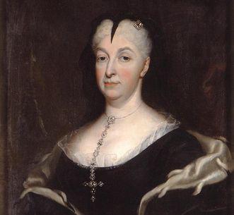 Bildnis Markgräfin Sibylla Augusta als Witwe; Foto: Staatliche Schlösser und Gärten Baden-Württemberg, Urheber unbekannt