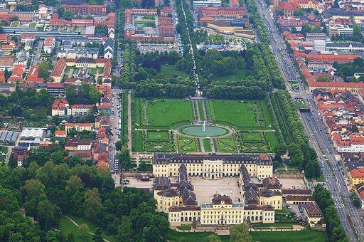 Luftbild von Ludwigsburg, 2010