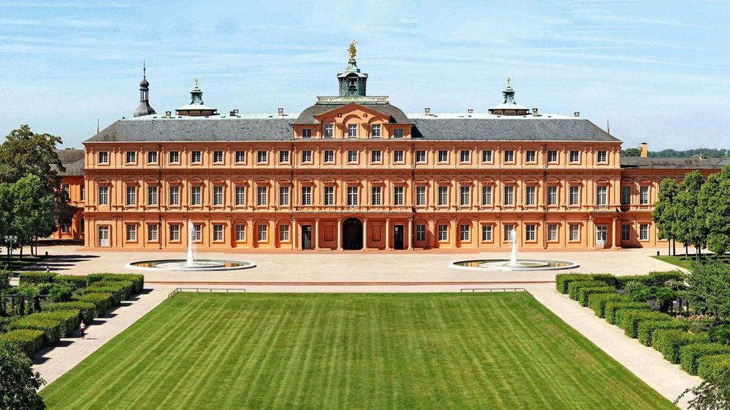 Château résidentiel de Rastatt, Vue aérienne