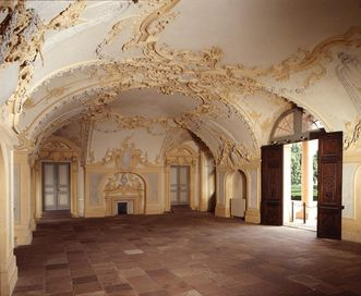 Sala terrena at Rastatt Residential Palace